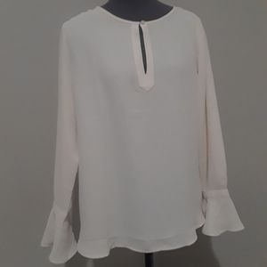 NWT Loft sheer blouse